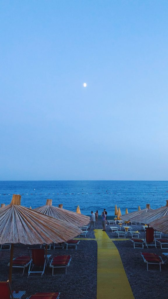 Plaža hotela Poseidon na Jazu