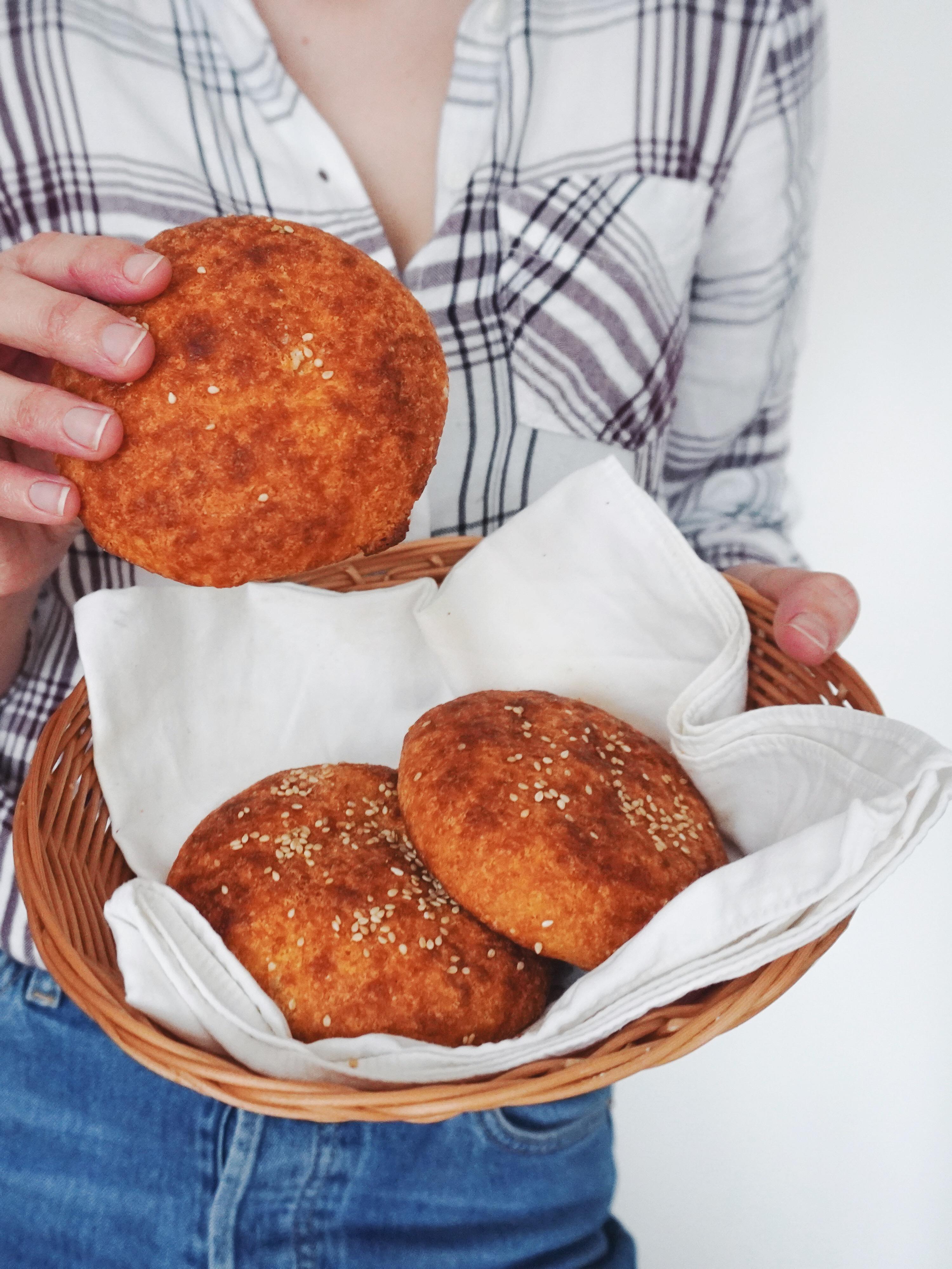 keto lepinje od bademovog brašna